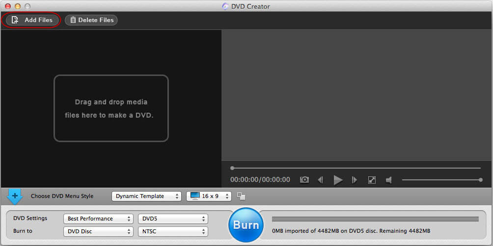 dvd burner software for mac