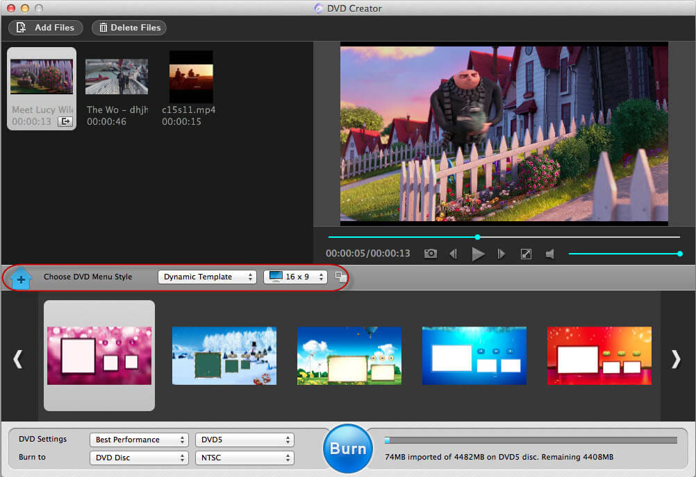 convert quicktime mov files to dvd on mac
