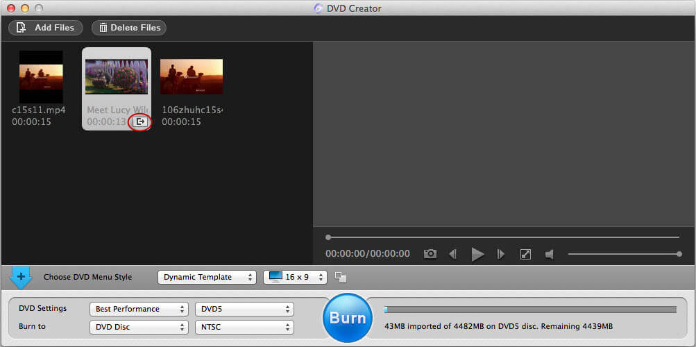 burn mp4 to dvd