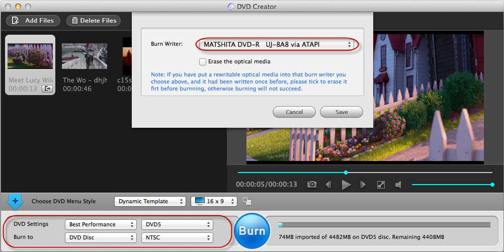 how to burn dvd on mac