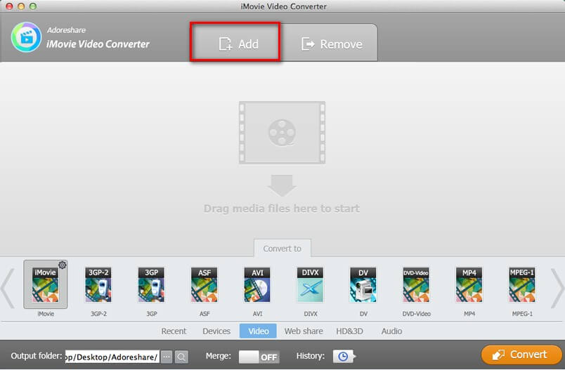add imovie video