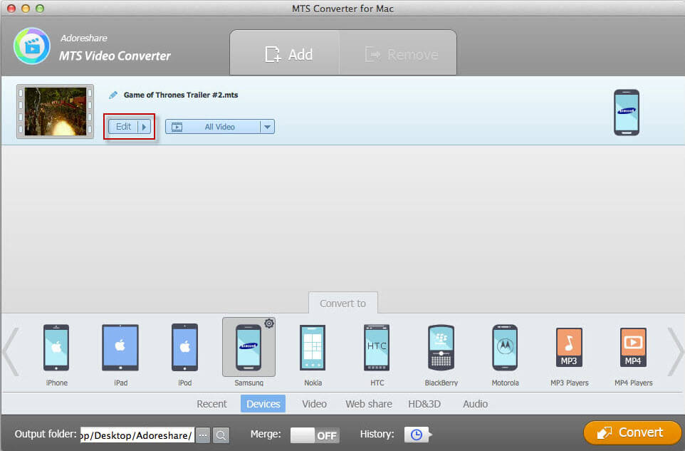 how to use mts converter for mac