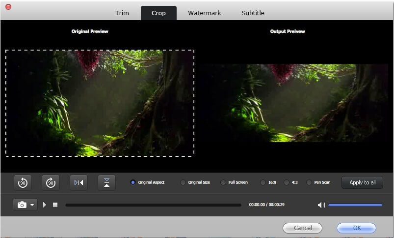 how to convert videos to iMovie on mac