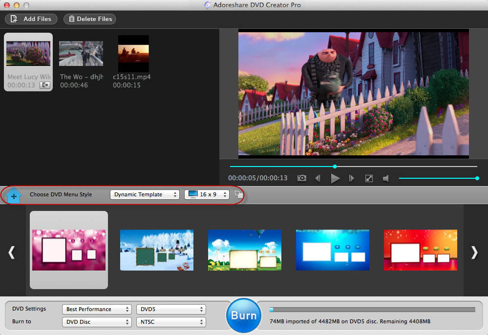 how to convert mp4 to dvd mac