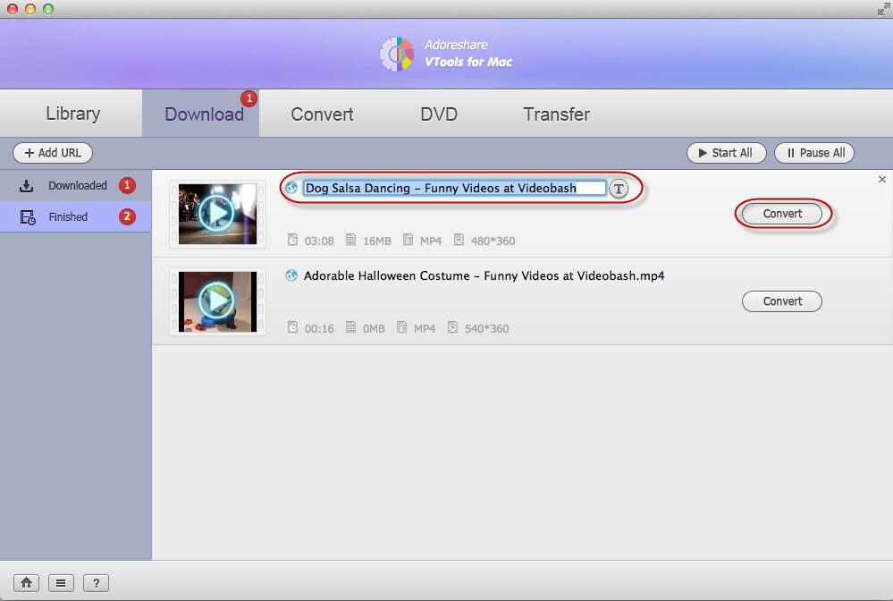 how to download videos mac