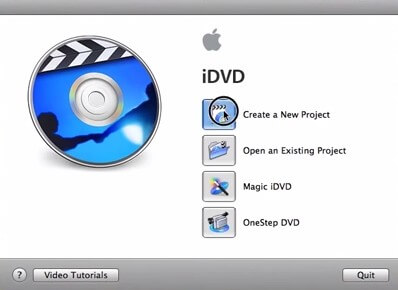 how to burn imovie project to dvd