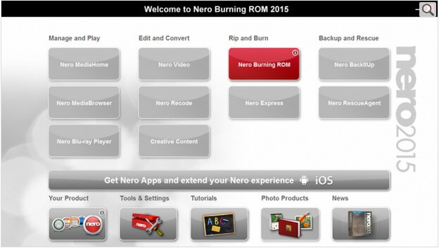burn mp4 to dvd with nero