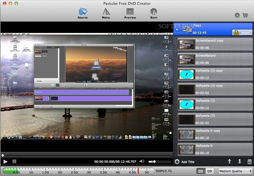 top 3 free MP4 to DVD creator for Mac