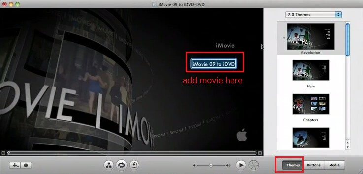 burn imovie to dvd with idvd