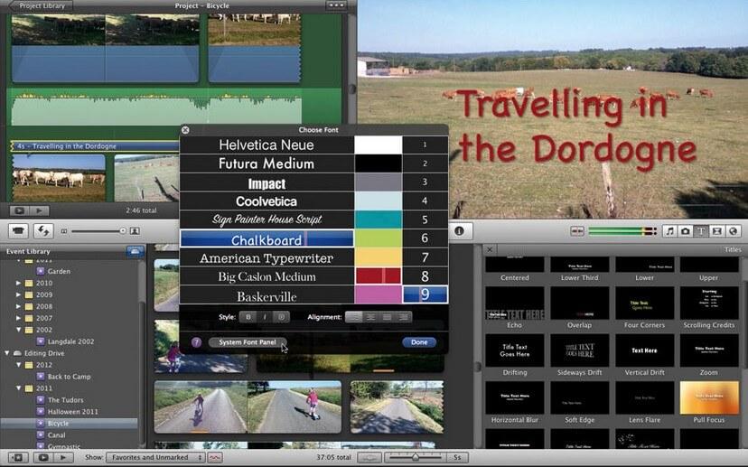 iMovie Tutorials: How to Add Subtitles in iMovie 11/10/9/8