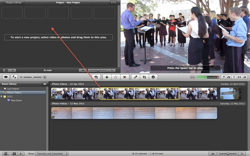 add text to imovie