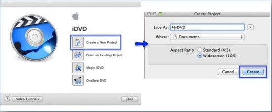 import idvd theme to imovie