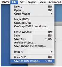 get idvd theme to imovie