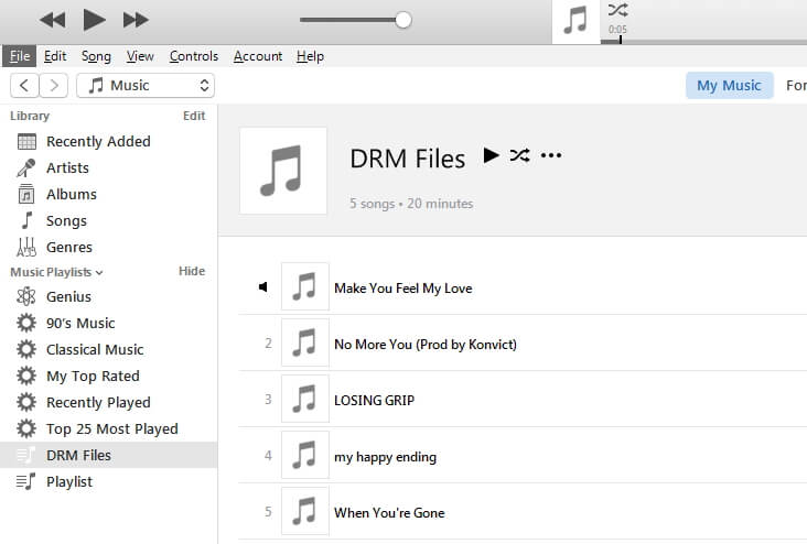 how to remove apple music drm