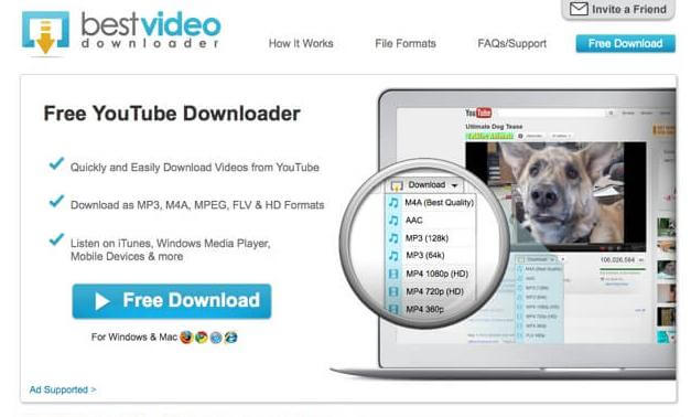 download youtube video and music freely