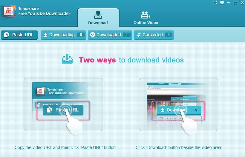 download youtube video freely