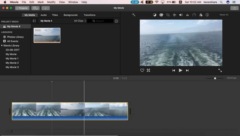 How to Cut Videos on iMovie 2017